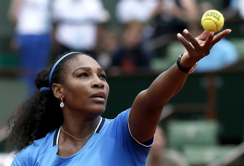 Williams weerstaat regen en Mladenovic