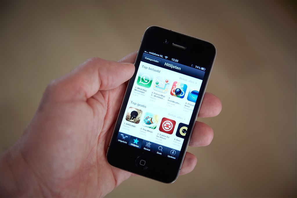 'In 2020 vijf miljoen apps in App Store'
