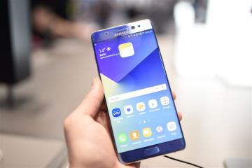 'Samsung bevriest productie Galaxy Note 7'