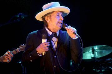 Bob Dylan was hogepriester protestbeweging