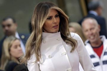Melania Trump hekelt pesten via internet