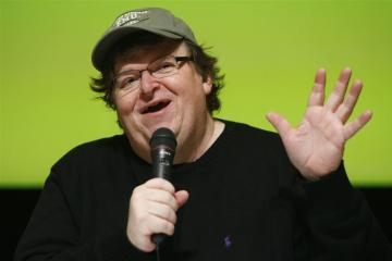 Michael Moore met show over Trump op Broadway