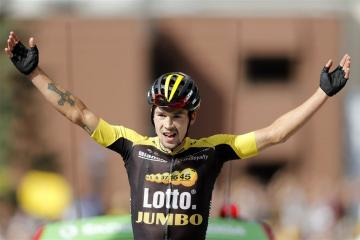 Roglic laat LottoNL-Jumbo juichen in Tour
