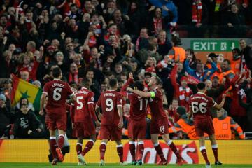 Liverpool ruim langs AS Roma in halve finale