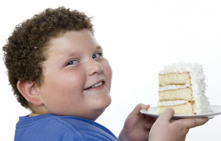 Mandatory Credit: Photo by West Coast Surfer / Mood Board / Rex Features ( 1235307a ) MODEL RELEASED Boy Holding Cake WEIGHT CHALLENGED (FAMILY)