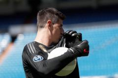Courtois start op de bank bij Real Madrid