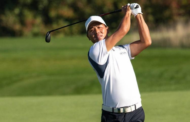 Chinese golfer Wu leidt KLM Open (2)