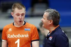 'Final Six' buiten bereik volleyballers