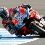 Dovizioso start van pole in Japan